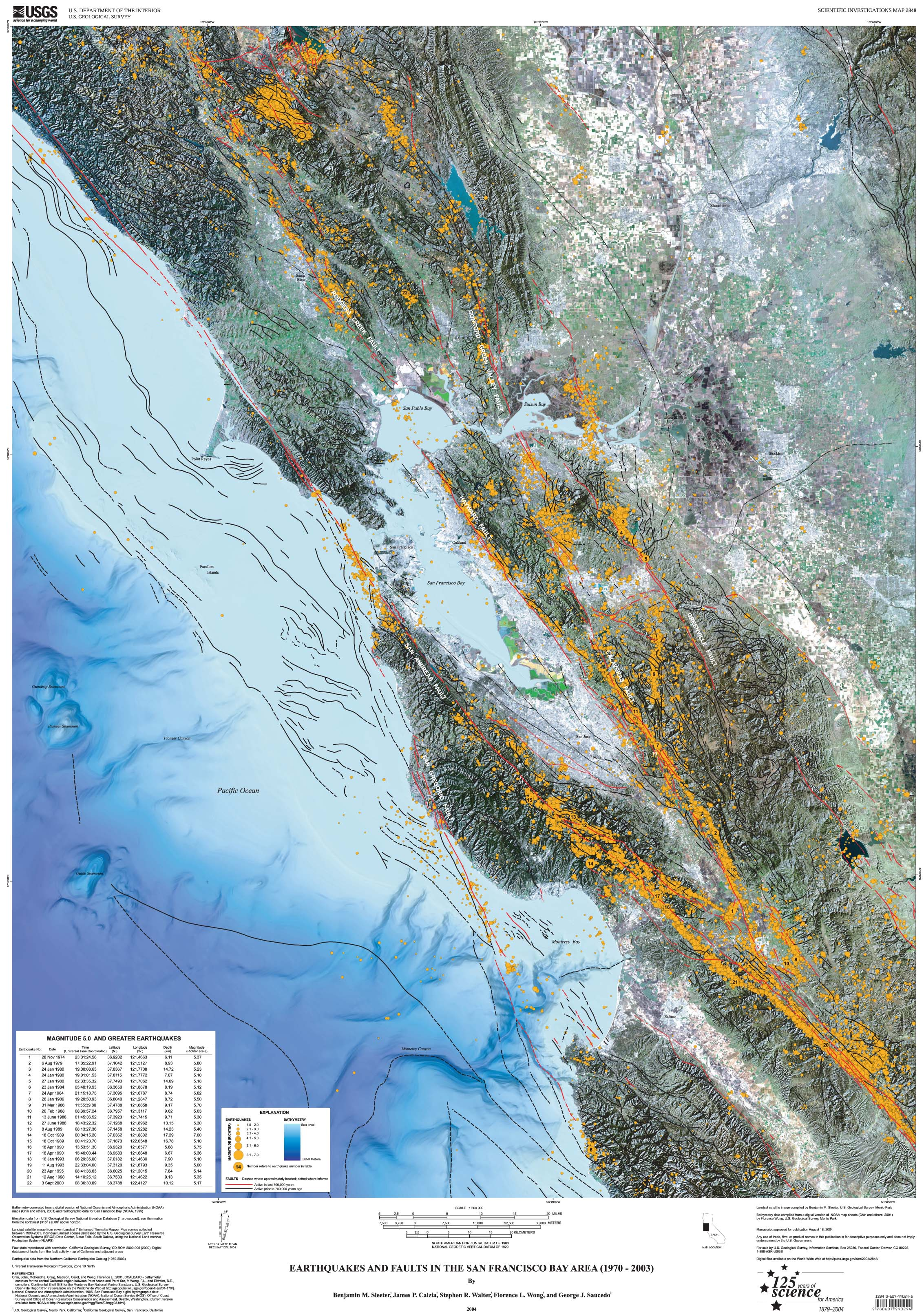 Seismic Hazards Maps for the San Francisco Bay Area  Earthquake