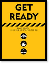 Publication cover: Get Ready Marin Disaster Manual.